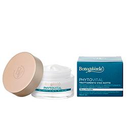 Tratament pentru fata, de noapte, pentru ten matur, cu colagen marin si extracte botanice - Phytovital, 50 ML