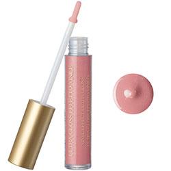 Luciu de buze cu extract de piersica si vitamina E, roz nude