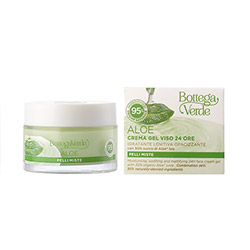 Crema de fata, pentru ten mixt, cu extract de aloe vera, 95% ingrediente naturale - Aloe, 50 ML