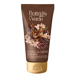 Crema de maini, intens hidratanta, cu extract de vanilie neagra si ulei de argan - Vaniglia Nera, 75 ML