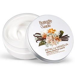 Crema corp fina cu extract de vanilie - Petali di Vaniglia, 200 ML