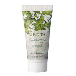 Travel size lapte de corp cu extract de menta - Menta, 30 ML