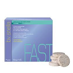 Supliment alimentar cu actiune rapida asupra metabolismului - BV Snella, 20 COMPRIMATE EFERVESCENTE
