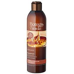 Sampon cu ulei de argan pentru parul deteriorat si uscat, efect de stralucire - Argan del Marocco, 250 ML