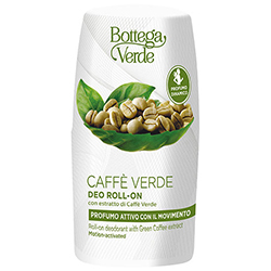 Deodorant roll-on cu extract de cafea verde - Caffè Verde, 50 ML