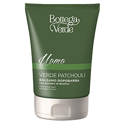 After shave, hidratant, cu extract de busioc - Verde Patchouli, 75 ML