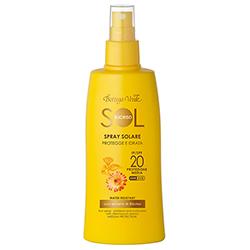 Spray protectie solara cu ulei de Hibiscus si cu ulei de Argan, SPF 30 - Sol Elicriso, 200 ML