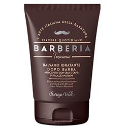 Balsam hidratant dupa barbierit cu ulei de masline Palazzo Massaini - Barberia Toscana, 75 ML