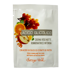 Mostra - Crema de fata pentru noapte cu acid glicolic si extract de fructe - Acido Glicolico, 1.5 ML