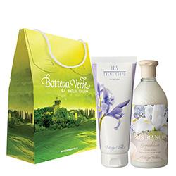 Set cadou - Gel de dus cu iris alb si crema de corp cu iris