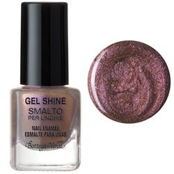 Gel shine - Lac de unghii  - violet auriu