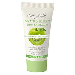 Mini crema-gel hidratanta cu mar verde si kiwi - Estratti di Belleza, 15 ML