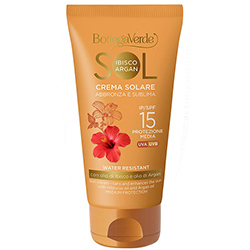 Crema pentru plaja cu ulei de hibiscus si argan - Sol Ibisco e Argan, 75 ML