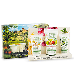 Kit de calatorie cu efect de hidratare, cu ingrediente naturale - Uva Rossa, 50 ML, 20 ML, 30 ML