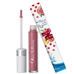 Luciu de buze balsam cu acid hialuronic si ulei din samburi de caise, roz nude - Riviera Mediterranea