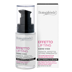 Ser lifting cu acid hialuronic si extract de flori albe - Effetto Lifting, 30 ML