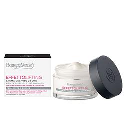 Crema pentru fata, de zi, cu efect lifting, cu extract de unt de shea, acid hialuronic si flori de lotus - Effetto Lifting, 50 ML