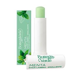 Balsam de buze hranitor cu extract de menta, verde