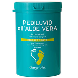 Picioare sanatoase - Bai de picioare cu Aloe Vera - saruri anti-oboseala, revigorante pentru picioare - racoritoare  (250 G)