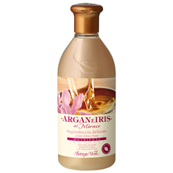 Argan si Iris de Maroc - Gel de dus delicat cu ulei de Argan si lapte de Iris  (400 ML)