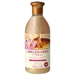 Gel de dus delicat cu ulei de argan si lapte de Iris - Argan e Iris  (400 ML)