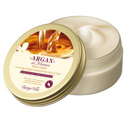 Argan de Maroc - Unt de corp cu extract de iasomie din desert si ulei de argan regenerator si hranitor  (150 ML)