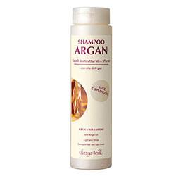 Sampon cu ulei de argan pentru parul deteriorat si uscat, efect de stralucire - Argan del Marocco  (200 ML)
