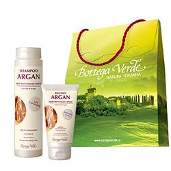 Set cadou - Argan de Maroc - Sampon si balsam de par cu ulei de argan  (200 ML + 150 ML)