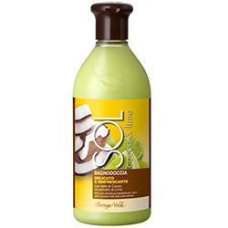 Protectie solara - Gel de dus delicat si revigorant cu lapte de cocos si extract de lime