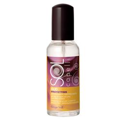 Ulei protector pentru par, cu ulei din seminte de in si filtru solar