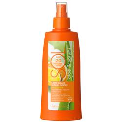 Protectie solara - Lapte hidratant, cu extrcat de citrice si aloe vera - protectie medie SPF 30, rezistent la apa