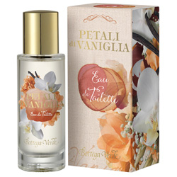 Apa de toaleta cu aroma de vanilie  - Petali di Vaniglia  (30 ML)