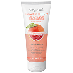 Extracte de frumusete - Gel de curatare, exfoliere delicata - grapefruit roz - ten normal si gras  (100 ML)