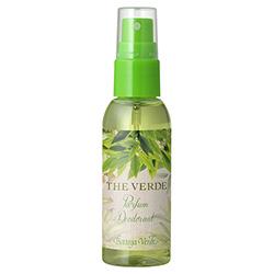 Mini parfum deodorant cu extract de ceai verde