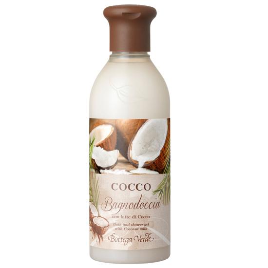 Gel de dus cu lapte de cocos