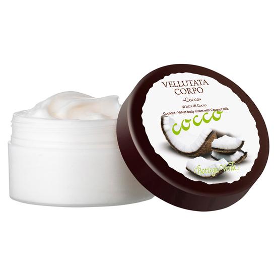 Cocos - Crema de corp cu lapte de nuca de cocos
