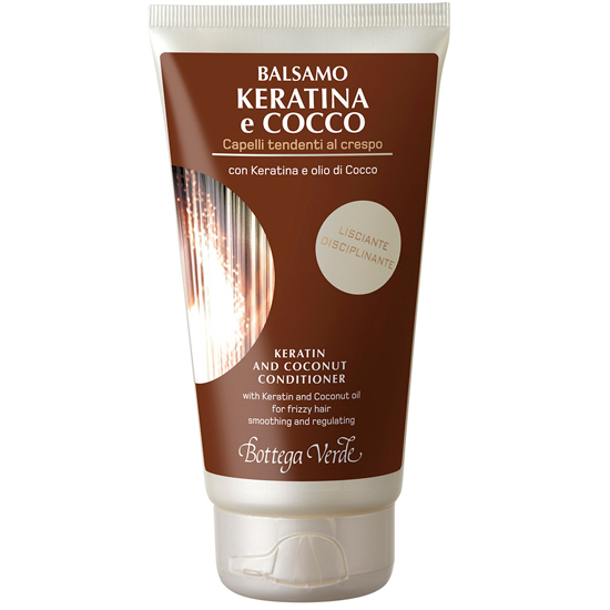 Balsam cu keratina si ulei de cocos - pentru par rebel - Keratina e Cocco  (150 ML)