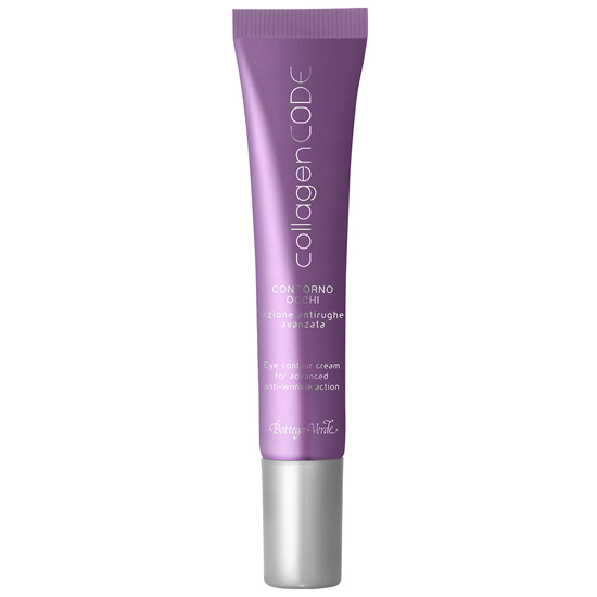 CollagenCODE - Crema pentru zona din jurul ochilor, actiune antirid avansata, cu Colagen vegetal si Elastindefence ™ hidratanta  (15 ML)