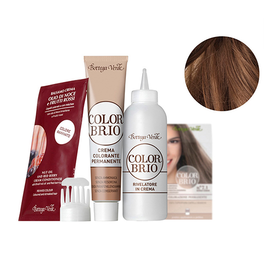 Color Brio - Vopsea de par  - blond (60 ML + 60 ML + 20 ML)