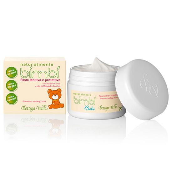 Crema calmanta si de protectie cu extract de zinc si ulei organic de migdale dulci - Bimbi  (100 ML)