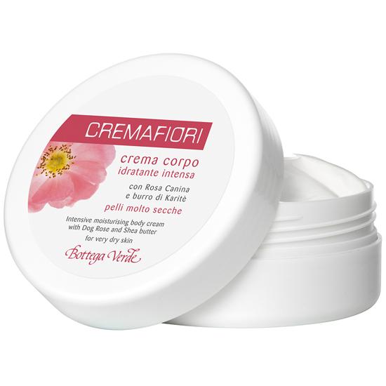 Cremafiori - Crema de corp intens hidratanta cu macese si unt de shea - pentru piele foarte uscata