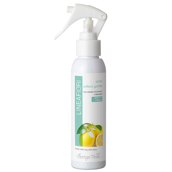 Gama florala - Spray pentru picioare cu extact de lamaie si mentol - efect racoritor   (125 ML)