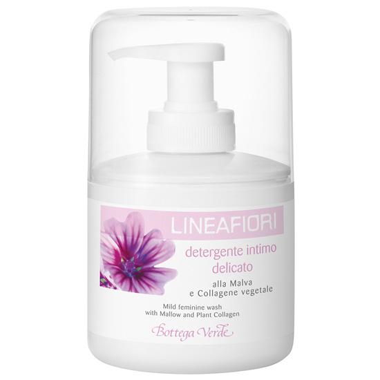Sapun lichid pentru igiena intima cu nalba si colagen vegetal - Lineafiori  (200 ML)