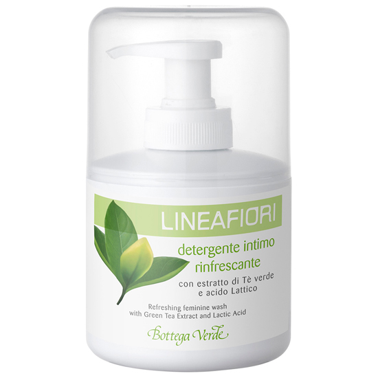 Linea Flori - Sapun pentru igiena intima cu extract de ceai verde si acid lactic