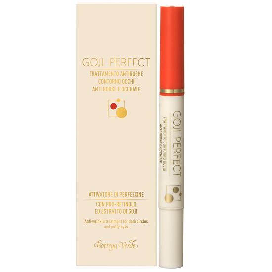 Goji perfect - Tratament antirid pentru zona din jurul ochilor, anticearcan cu PRO-Retinol si extract de Goji  (15 ML)