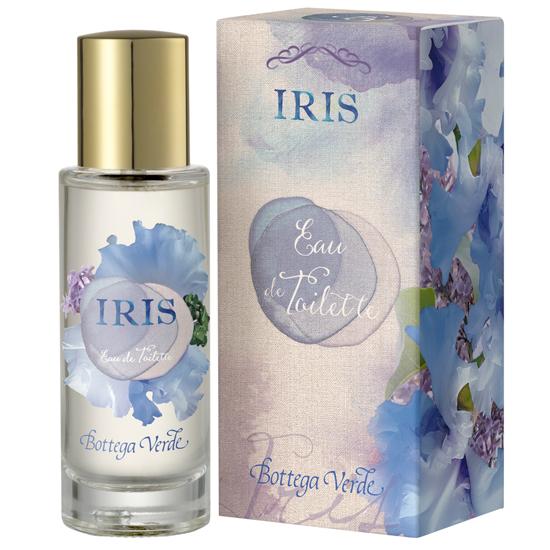 Apa de toaleta cu aroma de iris