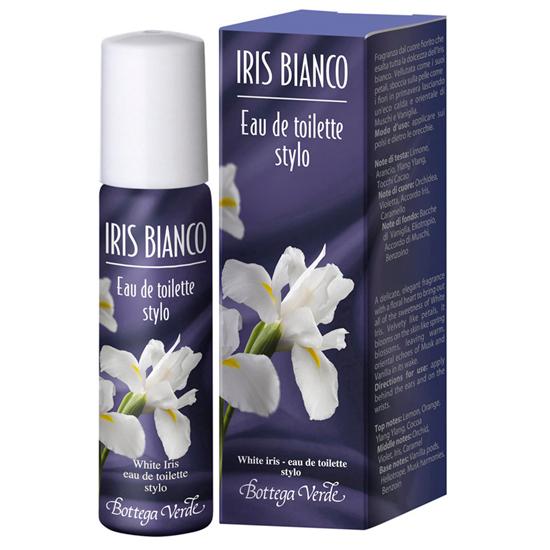 Iris alb - Apa de toaleta - stick   (15 ML)