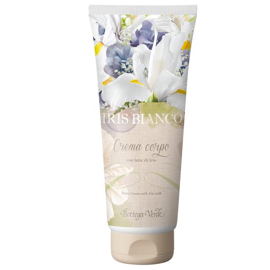 Iris bianco - Crema de corp cu lapte de iris