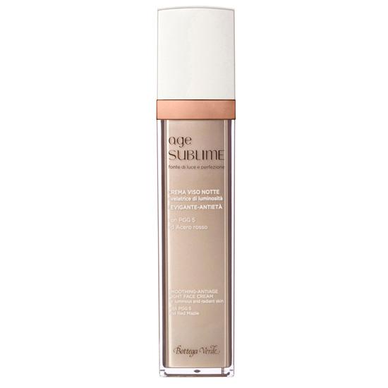 Crema de fata pentru noapte, cu efect activ anti-aging, cu PGG5 stabilizant din colagen si artar rosu - Age Sublime  (50 ML)