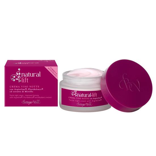 Crema de noapte cu Argireline®, Pluridefence® si extract de afine - Natural Lift  (50 ML)
